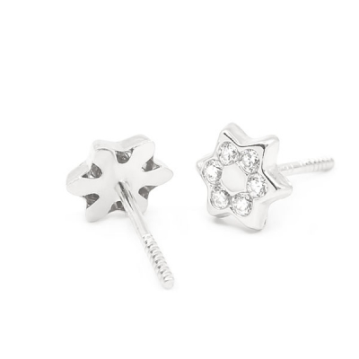 Pendientes-eles-niña-oro-blanco-18k-estrella-circonitas